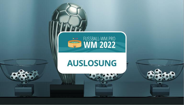 Auslosung und Töpfe für die Weltmeisterschaft 2022